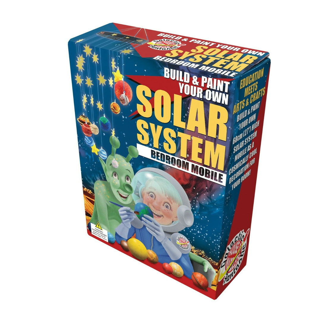 House of Marble Build & Paint Solar System Mobile The Bubble Room Toy Store dublin
