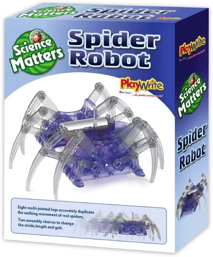 PlayWrite Spider Robot Science Kit The Bubble Room Toy Store Skerries Dublin