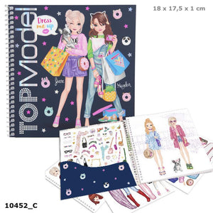 Top Model Dress me up sticker book The Bubble Room Toy Shop Dublin