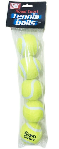 Tennis Balls  Pack Of 5 Balls  Royal Court The Bubble Room Toy store Dublin