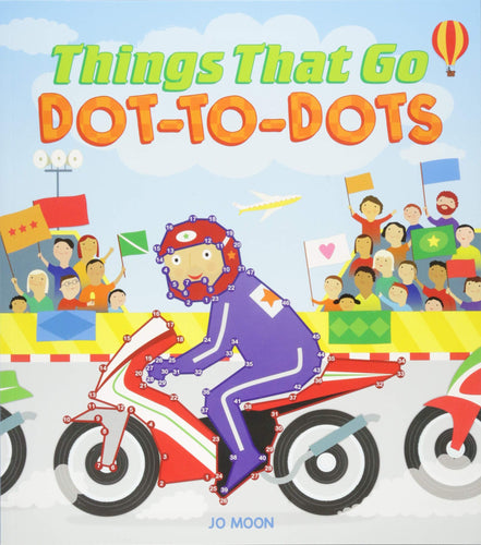 Things That Go Dot to Dot The Bubble Room Toy Store Dublin