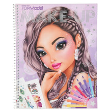Load image into Gallery viewer, Top Model Make Up Colouring book The Bubble Room toy Store dublin