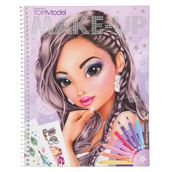 Top Model Make Up Colouring book The Bubble Room toy Store dublin
