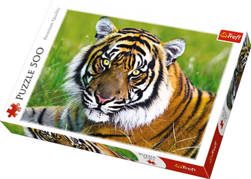 Trefl 500 Piece Tiger Puzzle The Bubble Room Toy Store Dublin