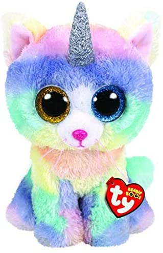 Ty Boo Buddy Heather the Cat Unicorn  The Bubble Room Toy Store Dublin