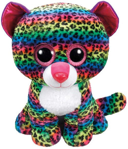 Ty Beanie Boo  Dotty Leopard Large The Bubble Room Toy Store Dublin