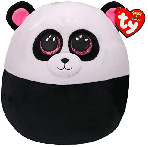 Ty Squish a Boo Bamboo Panda The Bubble Room Toy Store