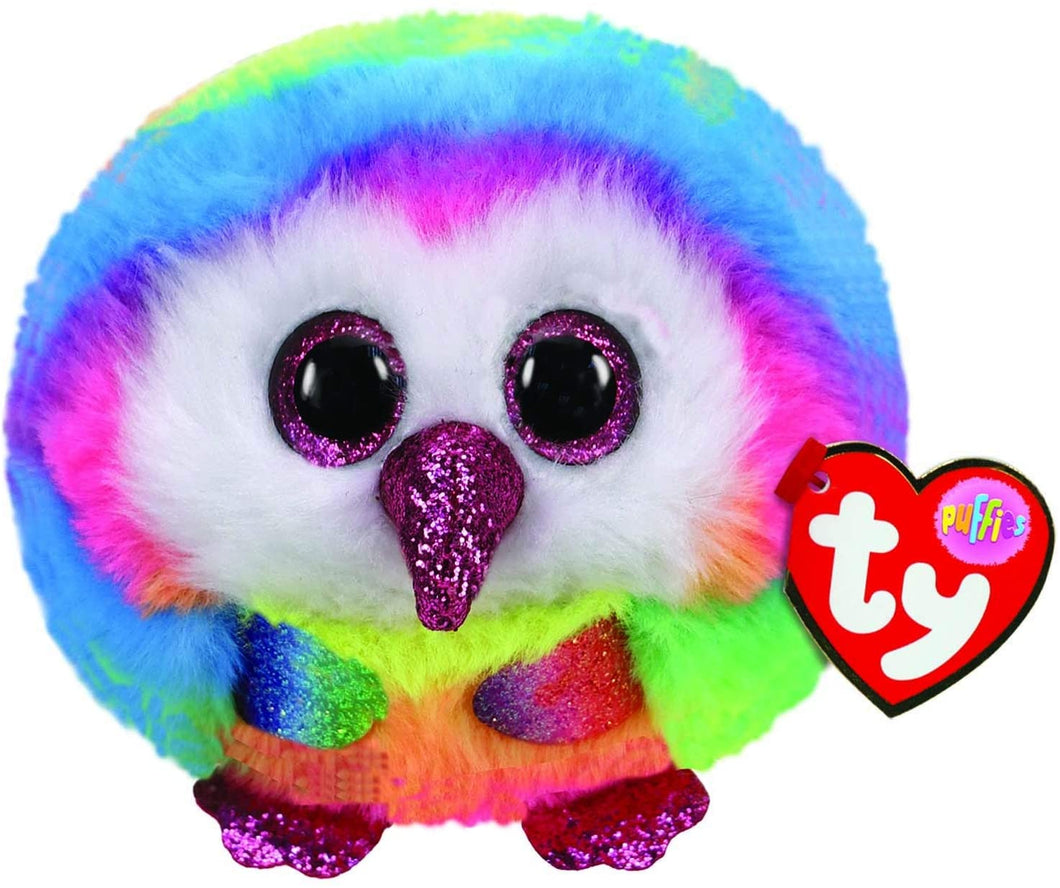 Ty Puffies Owen the Owl The Bubble Room Toy Store Dublin
