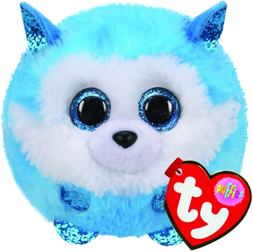 Ty Puffies  Prince the Husky  The Bubble Room toy Store Dublin