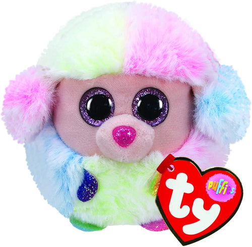 Ty Puffy Rainbow the Poodle The Bubble Room Toy Store Skerries Dublin