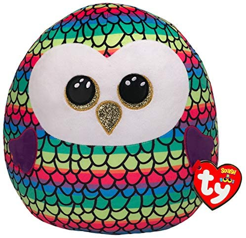 Ty Squish a Boo Owen the Owl The Bubble Room Toy Store Dublin