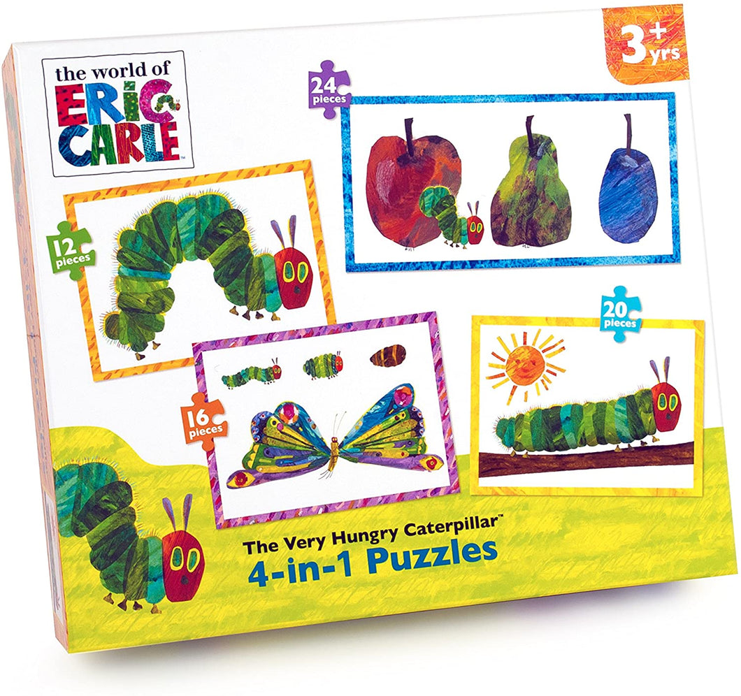 The Hungry Caterpillar 4 1 puzzle