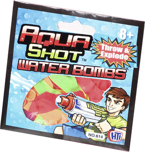HTI Toys Aqua Shot Water Balloons The Bubble Room Toy Store Skerries Dublin