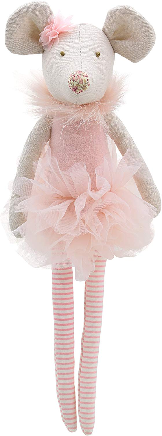 Wilberry  Dancers  Pink Mouse Soft Toy
