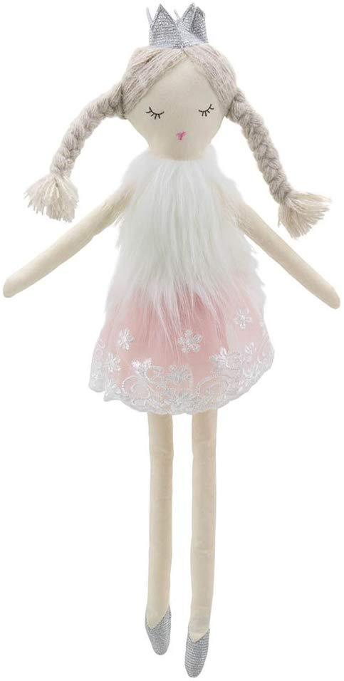 Wilberry Dolls  Ballerina With Crown Soft Toy