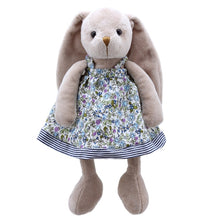 Load image into Gallery viewer, Wilberry  Friends  Mrs Rabbit (Pink & Blue ) Soft Toy
