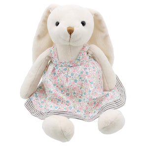 Wilberry  Friends  Mrs Rabbit (Pink & Blue ) Soft Toy