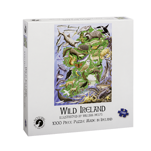Wild Ireland 1000 Piece Puzzle The Bubble Room Toy Store Dublin