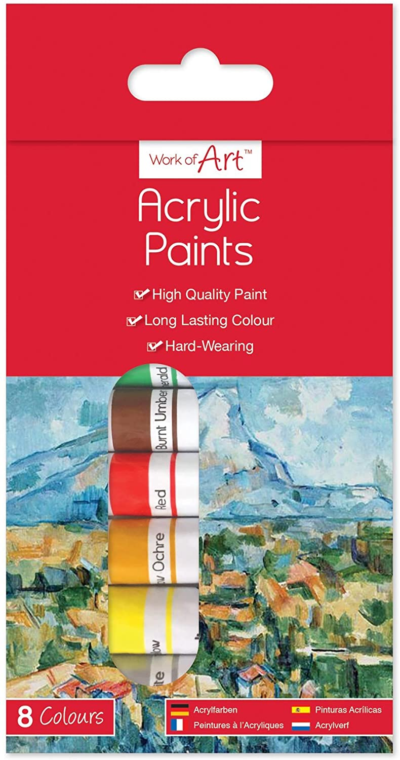 work of art acrylic paint The Bubble Room Art and Craft store Dublin
