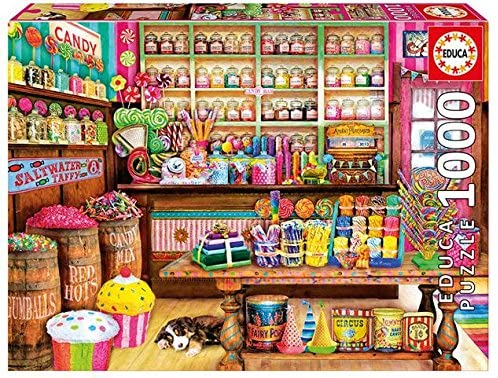 The Candy Shop 1000 Piece Jigsaw Puzzle, The Bubble Room Toy store Skerries Dublin