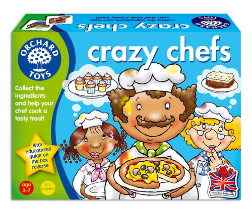 Orchard Toys Crazy Chefs The Bubble Room Toy Shop Dublin