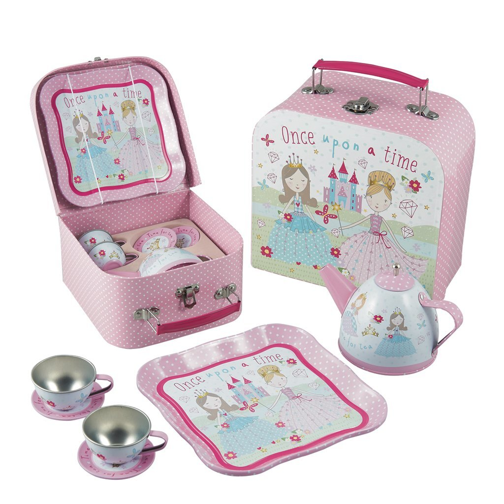 Floss and Rock 7 Piece Princess Tea set in Case The Bubble Room Toy Store Dublin