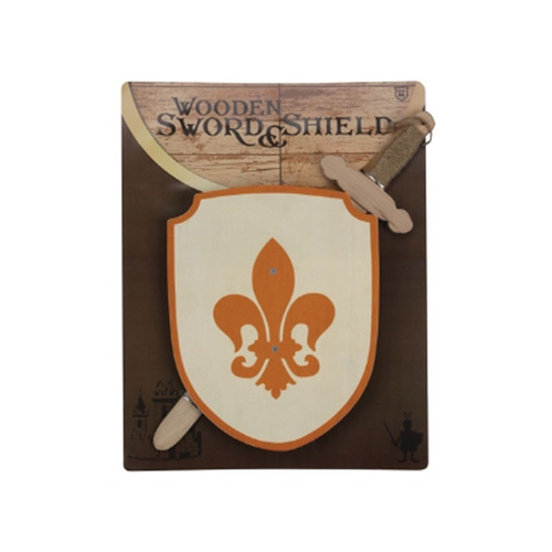 Keycraft Wooden Sword & Shield The Bubble Room Toy store Dublin