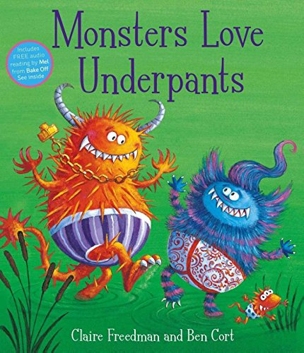 Monsters Love Underpants The Bubble Room Toy Store dublin