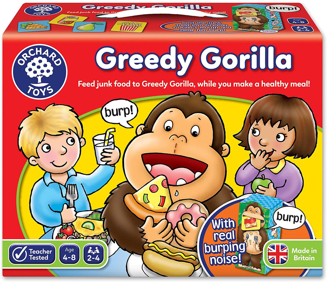 Orchard Toys Greedy Gorilla Game The Bubble Room Toy store Dublin
