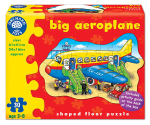 Orchard Toys Big Aeroplane Puzzle The Bubble Room Toy Store Dublin