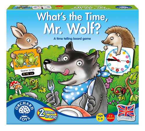 Orchard Toys What's the Time, Mr Wolf The Bubble Room Toy Store Dublin