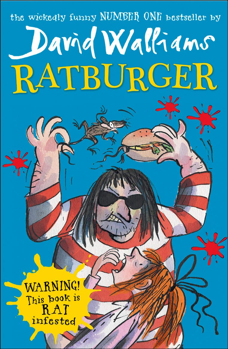 David Walliams Ratburger The Bubble Room Toy Store Dublin Ireland