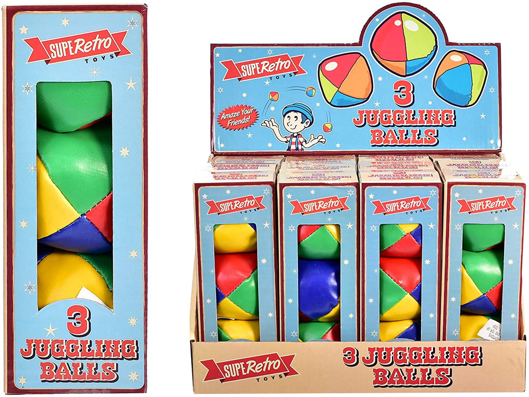 KandyToys Retro 3 Pack Juggling Balls The Bubble Room Toy Store Skerries Dublin