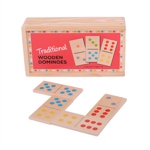 Bigjigs Traditional Wooden Dominoes The Bubble Room Toy Store Dublin