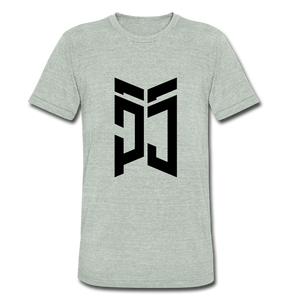 PJ55 Tee - White - heather gray