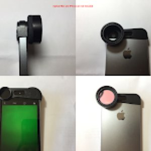 "Optical Filter Mount Module for 1"" Diameter for Mobile Phone"