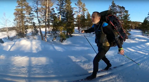 Haven Cross-country ski camping