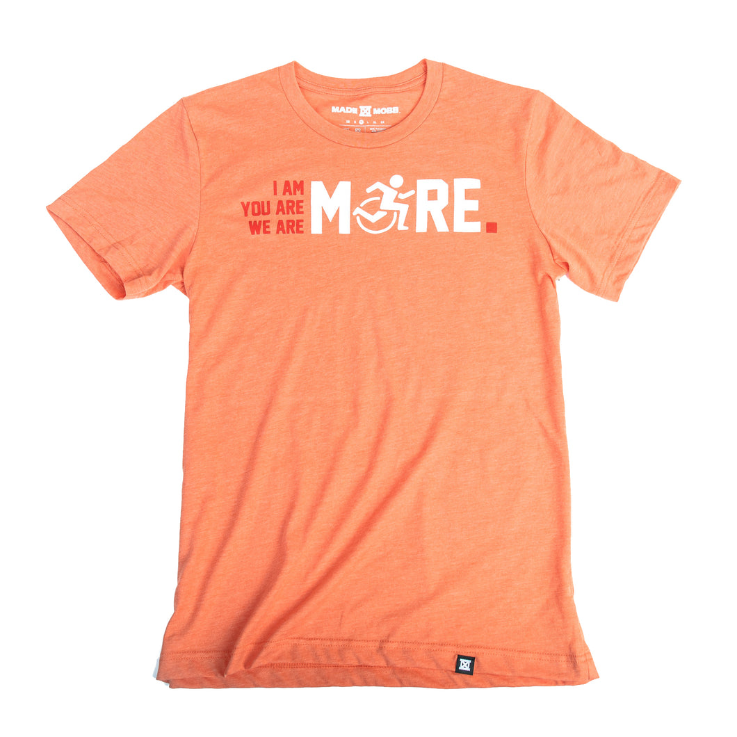 I AM MORE T-Shirt - Heather Orange