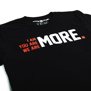 I AM MORE T-Shirt - Heather Black