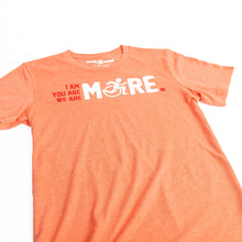 Load image into Gallery viewer, I AM MORE T-Shirt - Heather Orange