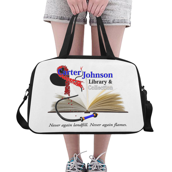 CJLC Red Ribbon Bags - Fitness Bag