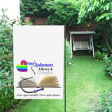 CJLC Gay v1 Garden Flag - Large