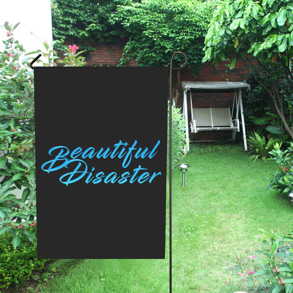 Beautiful Disaster Garden Flag - Small