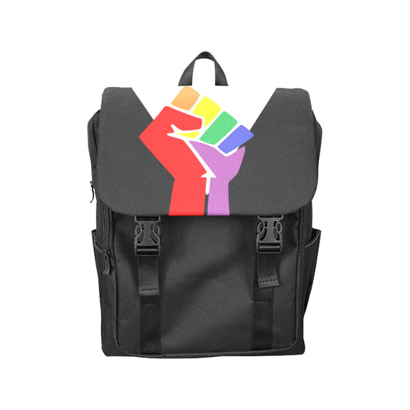 Black LGBTQ Pride Bags - Casual Backpack