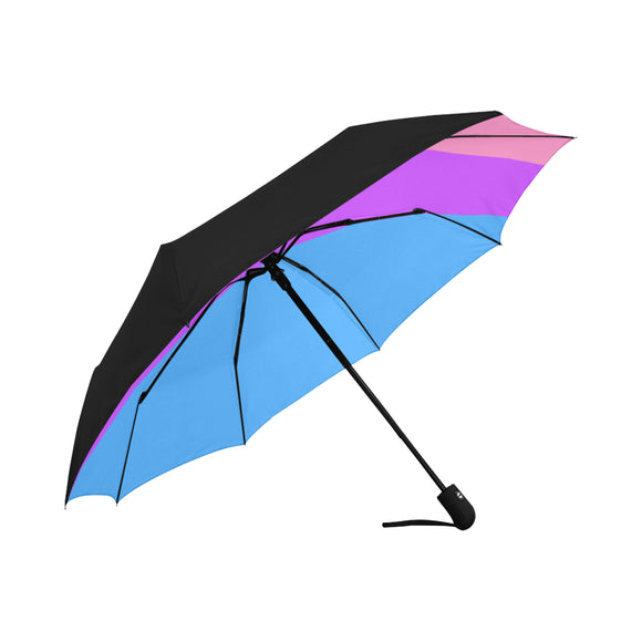 Bisexual Pride Umbrella - Anti-UV Auto-Fold