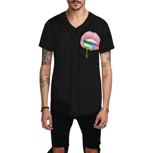 Sugar Lips  Shirt - Baseball Jersey (Mens xS-4x)