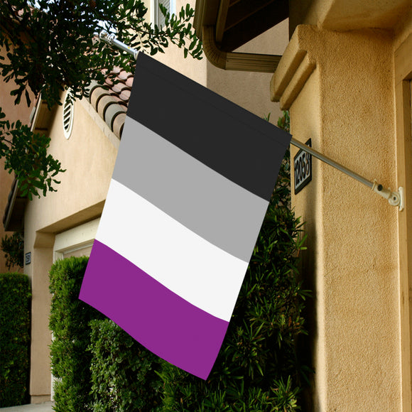 Asexual Pride Garden Flag - Large