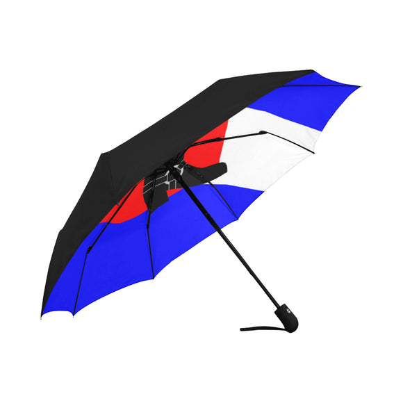 Bootblack Pride Umbrella - Anti-UV Auto-Fold