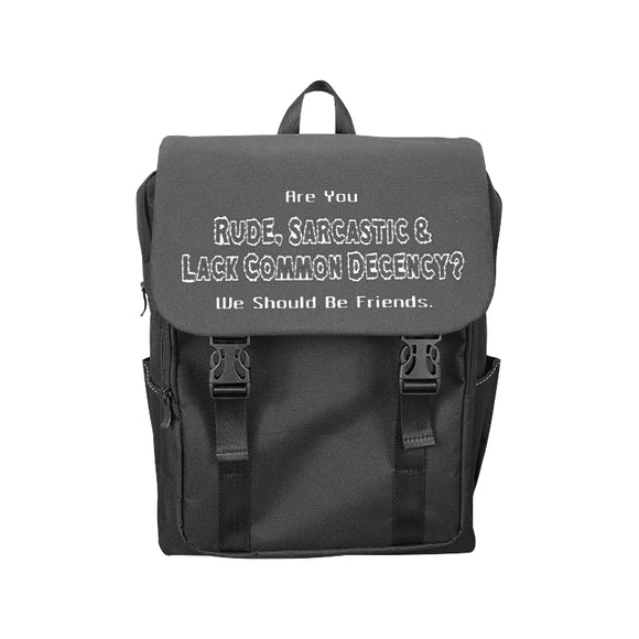Let's Be Friends Bags - Casual Backpack