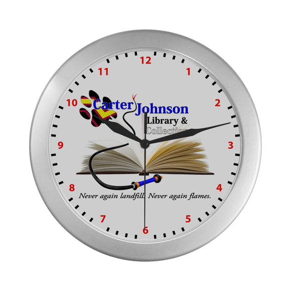 CJLC Puppy Paw Rubber Wall Clock